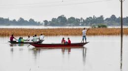 Verheerende Überschwemmungen nach Monsunregen
