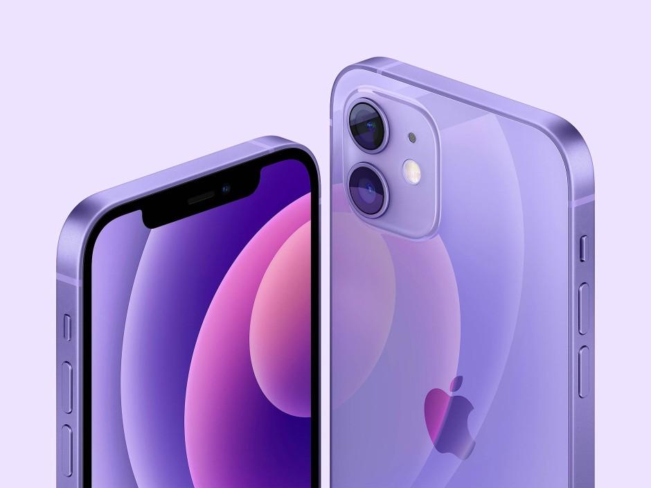 Das iPhone 12 gibt es jetzt auch in lila.