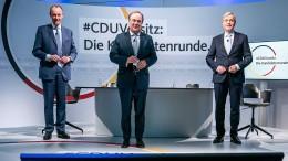Wer wird neuer CDU-Vorsitzender?
