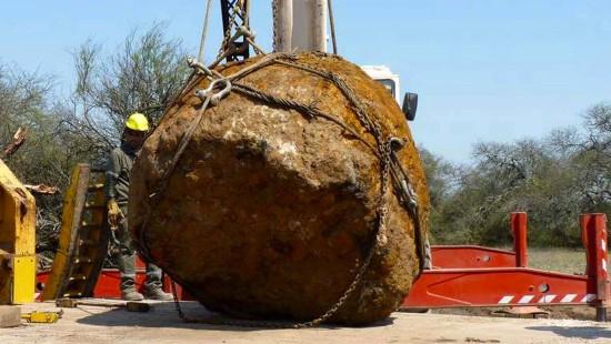 Wissenschaftler finden 30-Tonnen-Meteorit