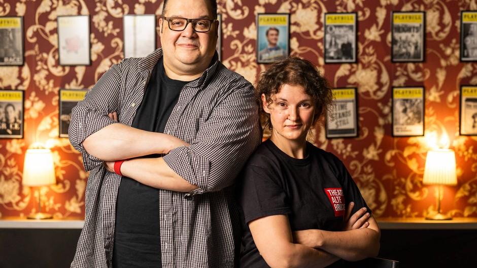 Energieüberschuss: Alexander Beck und Sabrina Faber haben viel nachzuholen.