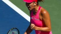 Ebenso selbstbewusst wie farbenfroh: Belinda Bencic