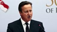 Cameron kämpft gegen die schmutzigen Milliarden