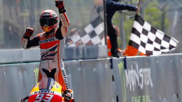 Fünfter Sieg für Marquez im fünften Rennen