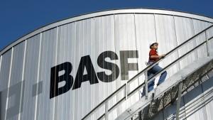 Quartalszahlen ziehen BASF nach oben