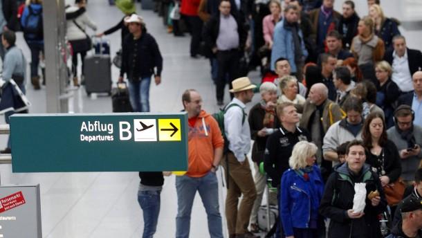 Sicherheitspersonal am Düsseldorfer Flughafen streikt