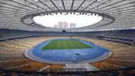 Austragungsort des Champions-League-Finales: Das Olympiastadion von Kiew