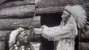 Ein Sioux in Sachsen