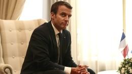 Macron will sich seinen Gegnern nicht beugen