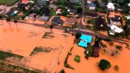 Notstand nach Überflutungen auf Hawaii