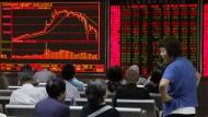 Aktienkurse in Asien unter Druck