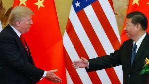 Trump stellt Einigung mit China in Aussicht