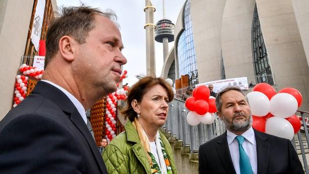 Kölner Oberbürgermeisterin: Reker beklagt mangelnden Respekt von Ditib