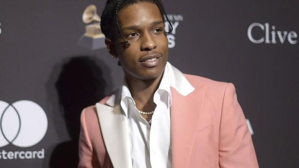 Rapper ASAP Rocky in Stockholm vor Gericht