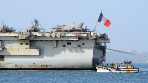Europäische Flugzeugträger im Pazifik