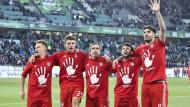 Der FC Bayern München gewinnt zum fünften Mal in Folge die deutsche Meisterschaft.