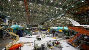 Boeing setzt Tests am neuen Langstreckenflieger 777X aus