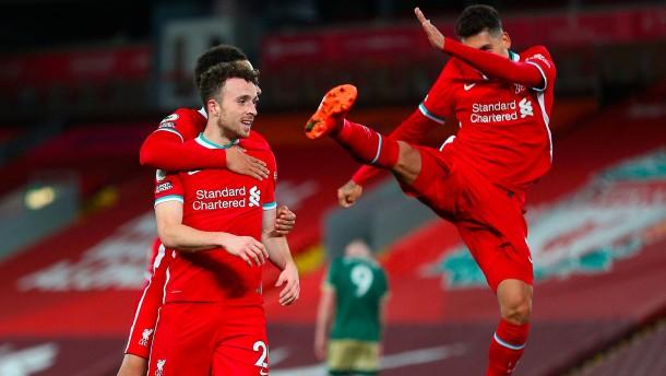 FC Liverpool dreht das Spiel dank Neuzugang Jota