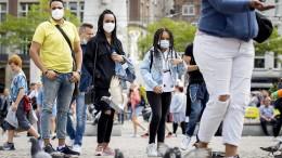 Maskenpflicht in Amsterdam und Rotterdam