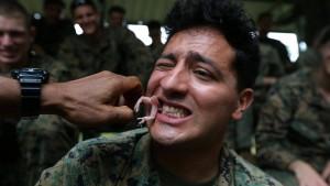 Dschungelcamp für amerikanische Soldaten