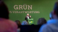 Ministerpräsident Winfried Kretschmann auf dem Landesparteitag der Grünen