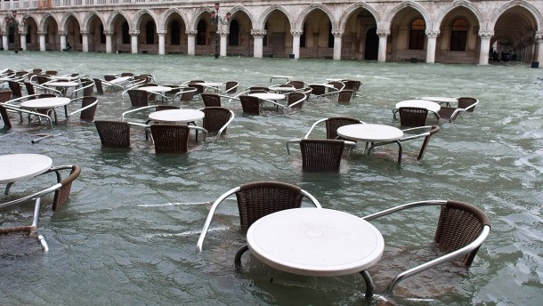 Exceptional High Water in Venice