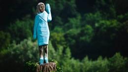 Melania-Statue sorgt für Streit