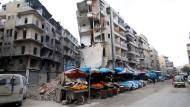 Mindestens 500 Tote bei Kämpfen in Aleppo