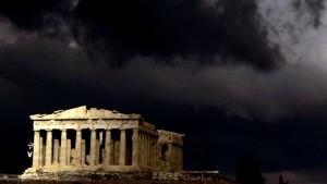 Die Griechen wollen den Euro, aber keine Sanierung
