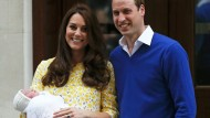 Kate und William präsentieren ihr Baby