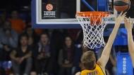 Sieg gegen Kaunas: Die Körbe hängen für Alba nicht zu hoch