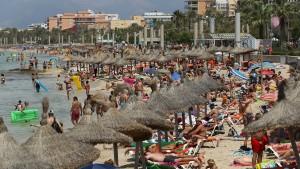 Europas Reiseziele werden von Urlaubern überrannt