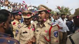 Vier mutmaßliche Mörder von indischer Polizei erschossen