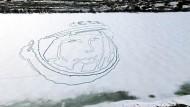 Gigantisches Gedenken an Juri Gagarin