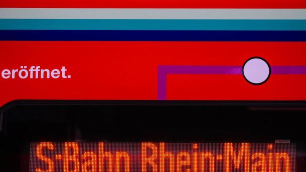 S-Bahn-Tunnel am Wochenende gesperrt
