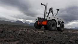 Nasa testet Mars-Roboter in Island
