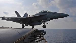 Amerikanische Kampfjets über dem Irak