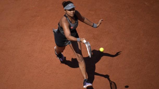 Naomi Osaka verlässt die French Open