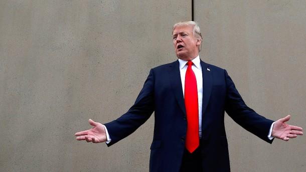 Blufft Trump?