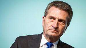 Oettinger entschuldigt sich für abfällige Äußerungen über Chinesen