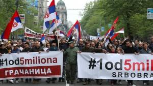 """""""Mit ihm hat Serbien keine Zukunft"""""""