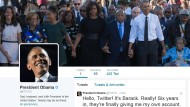 Barack Obama twittert jetzt ganz persönlich
