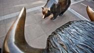 Spekulieren kann sich lohnen: Bulle und Bär in Frankfurt