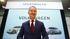VW will Elektro-Marktführer werden