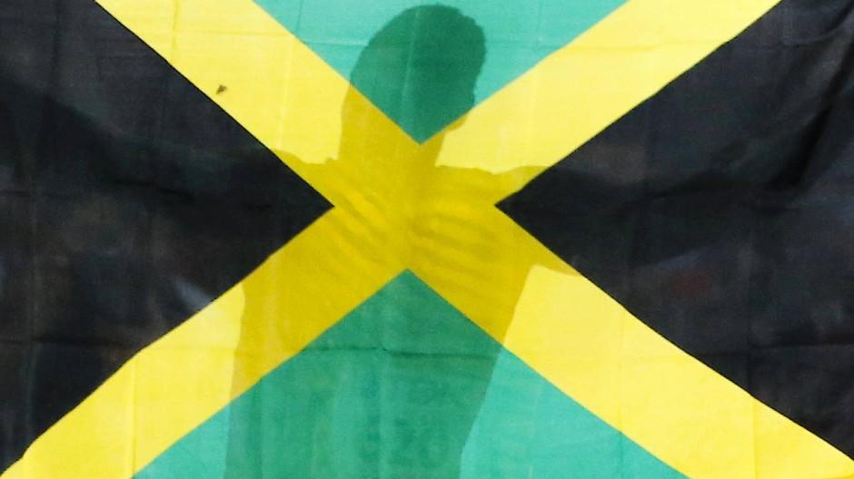 Ich grüß meine Insel im Sonnenlicht: Fahne von Jamaika