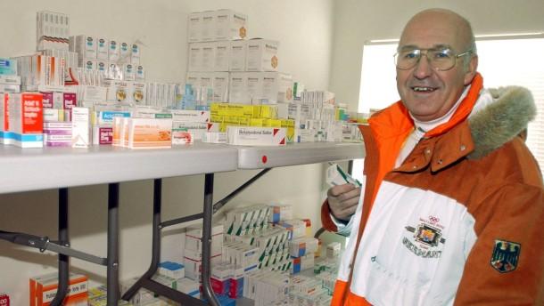 BDR suspendiert Olympia-Arzt Huber