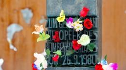 Gedenkakt zum Jahrestag des Oktoberfest-Attentats