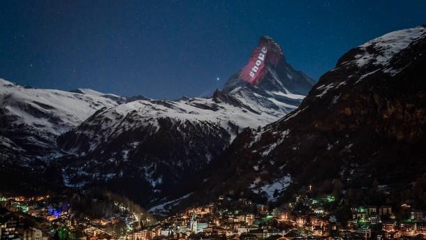 Botschaft der Hoffnung vom Matterhorn