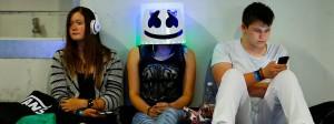Auf der Gamescom 2016: Chillende Messebesucher