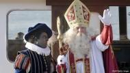 Der Nikolaus bekommt den schwarzen Peter